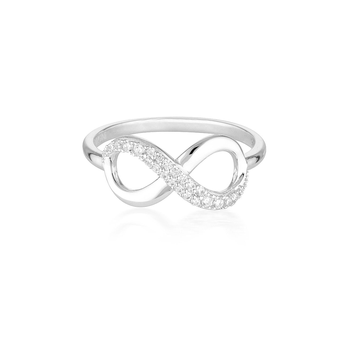 Georgini - Forever Infinity Sterling Silver Cubic Zirconia Ring