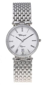 Ladies St/Steel 51 Dia.o/case Swiss Quartz B'let