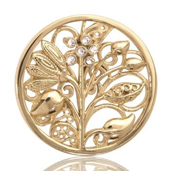 Nikki Lissoni Fantasy Tree, Gold Plated
