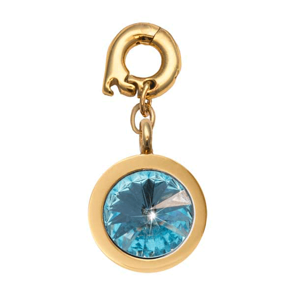 Nikki Lissoni Gold Plated March 15mm Charm
