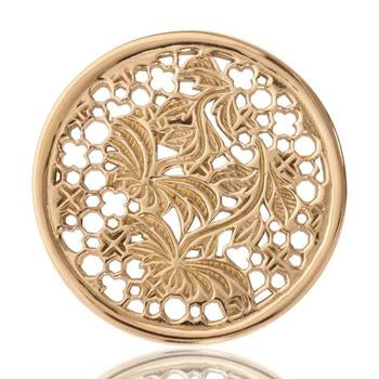 Nikki Lissoni Paradise In Me, Gold Plated Coin
