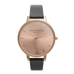 Olivia Burton  Big Dial Rose Gold Ladies Watch