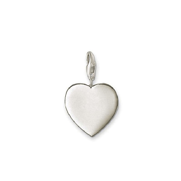 THOMAS SABO Charm Club Heart Flat Silver