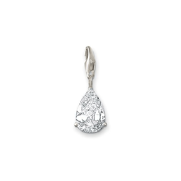 THOMAS SABO Charm Club Pendant White CZ