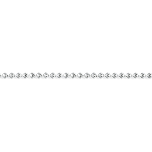 THOMAS SABO Sterling Silver Silver Ball Chain Necklace
