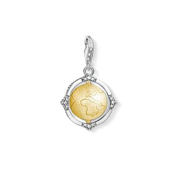 Thomas Sabo Charm Club Globe Gold Plated