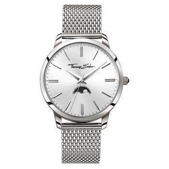 Thomas Sabo Classic Moonphase Steel Mesh Watch