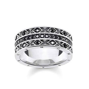 Thomas Sabo Dragon Nights Black Ring