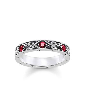 Thomas Sabo Dragon Nights Red Corundum Ring