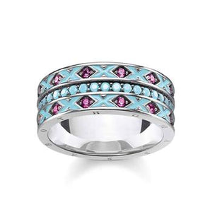Thomas Sabo Dragon Nights Turquoise Ring