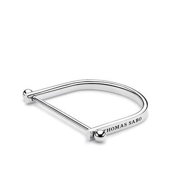 Thomas Sabo Iconic Chain Silver Bangle 15.5cm