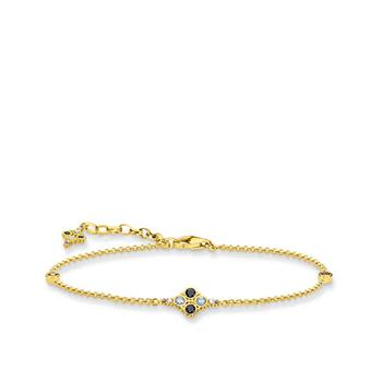 Thomas Sabo Kingdom Of Dreams Gold Bracelet 16-19cm
