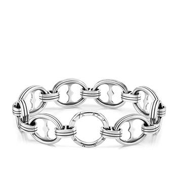 Thomas Sabo Oxidi Traditional Chain Bracelet 21cm