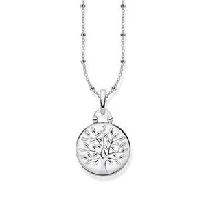 Thomas Sabo Silver Tree Of Love Locket Necklace 40-45cm