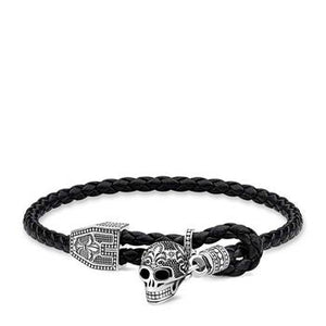 Thomas Sabo Skull Toggle Adjustable Bracelet 14-25cm