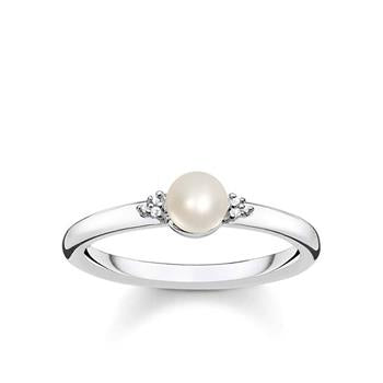 Thomas Sabo Vintage Freshwater Pearl Diamond Ring