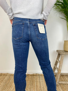 DL Angel Cigarette Mid-Ride Jeans River