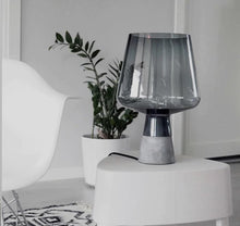 Load image into Gallery viewer, Vision Cement Table Lamp - INSPIRA LIFESTYLES