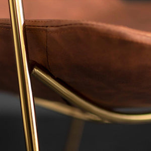 INSPIRA LIFESTYLES - Leather Leisure Chair - CHAIR, CHAIRS, DINING CHAIR
