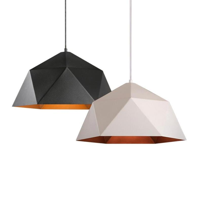 INSPIRA LIFESTYLES - Geohex Dome Pendant - CHANDELIER, DINING LIGHT, HANGING LIGHT, LIGHT, LIGHT FIXTURE, LIGHTING, LIGHTS, LIVING ROOM LIGHT, PENDANT LIGHT