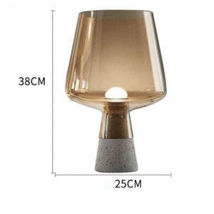 Vision Cement Table Lamp - INSPIRA LIFESTYLES