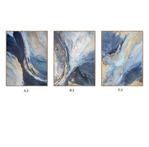 Cuvee Series: A.2 Abstract Oil Painting