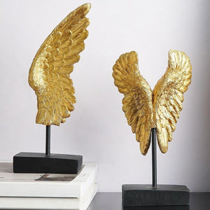 INSPIRA LIFESTYLES - Modern Wing Sculptures - ACCESSORIES, DECOR, DECORATION, SCULPTURE, WINGS