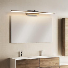 Load image into Gallery viewer, INSPIRA LIFESTYLES - Francis LED Vanity Light - BATHROOM LIGHT, BLACK, LED, LED LIGHT, LIGHT FIXTURE, LIGHTING, LINEAR LIGHT, MAKE UP LIGHT, MINIMALIST, VANITY LIGHT, WALL LAMP, WALL LIGHT