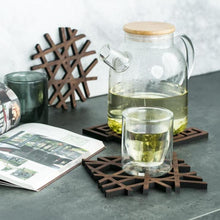 Load image into Gallery viewer, INSPIRA LIFESTYLES - Solid Walnut Heat Mat - COASTER, TABLEWARE, TRIVET, WOODEN