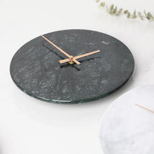Load image into Gallery viewer, Minimalist Marble Wall Clock