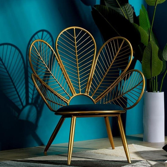 INSPIRA LIFESTYLES - Peacock Chair & Table - ACCENT CHAIR, CHAIR, CHAIRS, DECORATIVE CHAIR, LOUNGE CHAIR, STATEMENT CHAIR