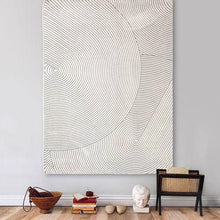 Load image into Gallery viewer, Concentric Rings Large Area Rug