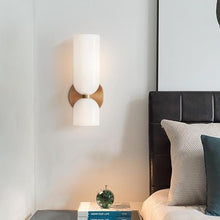 Load image into Gallery viewer, INSPIRA LIFESTYLES - Marilyn Glass Wall Sconce - BEDROOM LIGHT, BEDSIDE LIGHT, DINING LIGHT, LAMP, LIGHT, LIGHT FIXTURE, LIGHTING, LIGHTS, LIVING ROOM LIGHT, SCONCE, WALL LIGHT, WALL SCONCE