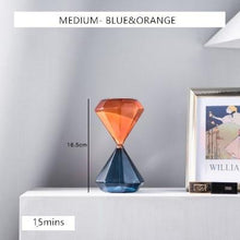 Load image into Gallery viewer, INSPIRA LIFESTYLES - Two Tone Hourglass - ACCESSORIES, DECOR, DECORATION, HOURGLASS, SAND TIMER