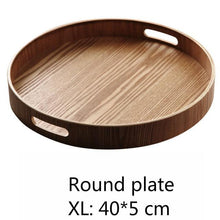 Load image into Gallery viewer, INSPIRA LIFESTYLES - Manchurian Ash Wood Trays - DECOR, DISHES, KITCHEN, ORGANISER, OVAL TRAY, PLATTER, RECTANGULAR TRAY, ROUND TRAY, SERVER, SERVING TRAY, TABLEWARE, TRAY, WOOD