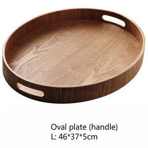 INSPIRA LIFESTYLES - Manchurian Ash Wood Trays - DECOR, DISHES, KITCHEN, ORGANISER, OVAL TRAY, PLATTER, RECTANGULAR TRAY, ROUND TRAY, SERVER, SERVING TRAY, TABLEWARE, TRAY, WOOD