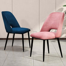 Load image into Gallery viewer, INSPIRA LIFESTYLES - Mid Century Plush Chair - CHAIR, CHAIRS, DESK CHAIR, DINING CHAIR, DINING ROOM, MINIMAL, MODERN, UPHOLSTERED