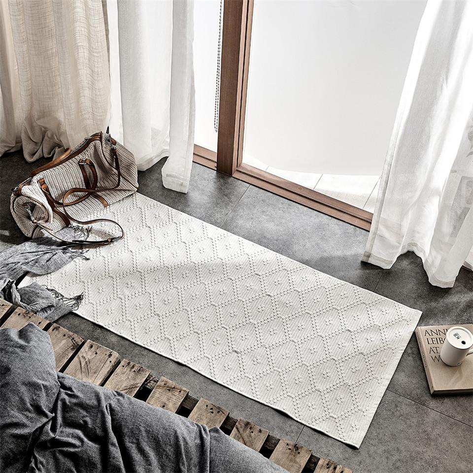 INSPIRA LIFESTYLES - Cecil Hand Woven Rug - DOORMAT, GEOMETRIC, HAND WOVEN RUG, RUG, RUNNER, WOVEN RUG