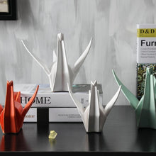Load image into Gallery viewer, INSPIRA LIFESTYLES - Origami Crane Sculpture - ACCESSORIES, DECOR, HOME ACCESSORIES, OBJECTS, SCULPTURE