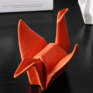 INSPIRA LIFESTYLES - Origami Crane Sculpture - ACCESSORIES, DECOR, HOME ACCESSORIES, OBJECTS, SCULPTURE