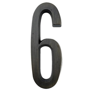 INSPIRA LIFESTYLES - Self-Adhesive House Number Aged Bronze - ADDRESS, AGED BRONZE, HARDWARE, HOME & GARDEN, HOUSE NUMBER, SIGN