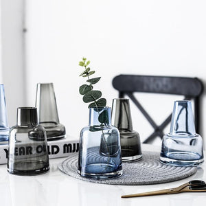 INSPIRA LIFESTYLES - Buoy Tinted Glass Vase - ACCESSORIES, DECOR, DECORATION, GLASS, VASE