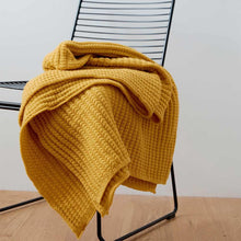Load image into Gallery viewer, Rib Stitch Knit Throw