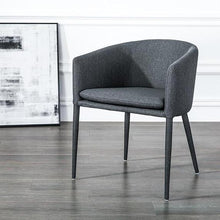 Load image into Gallery viewer, INSPIRA LIFESTYLES - Modern Barrel Chair - ACCENT CHAIR, BARREL CHAIR, BISTRO CHAIR, CHAIR, CHAIRS, DINING CHAIR, MODERN CHAIR, NORDIC CHAIR, RESTAURANT CHAIR, STATEMENT CHAIR, UPHOLSTERED CHAIR
