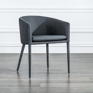 INSPIRA LIFESTYLES - Modern Barrel Chair - ACCENT CHAIR, BARREL CHAIR, BISTRO CHAIR, CHAIR, CHAIRS, DINING CHAIR, MODERN CHAIR, NORDIC CHAIR, RESTAURANT CHAIR, STATEMENT CHAIR, UPHOLSTERED CHAIR