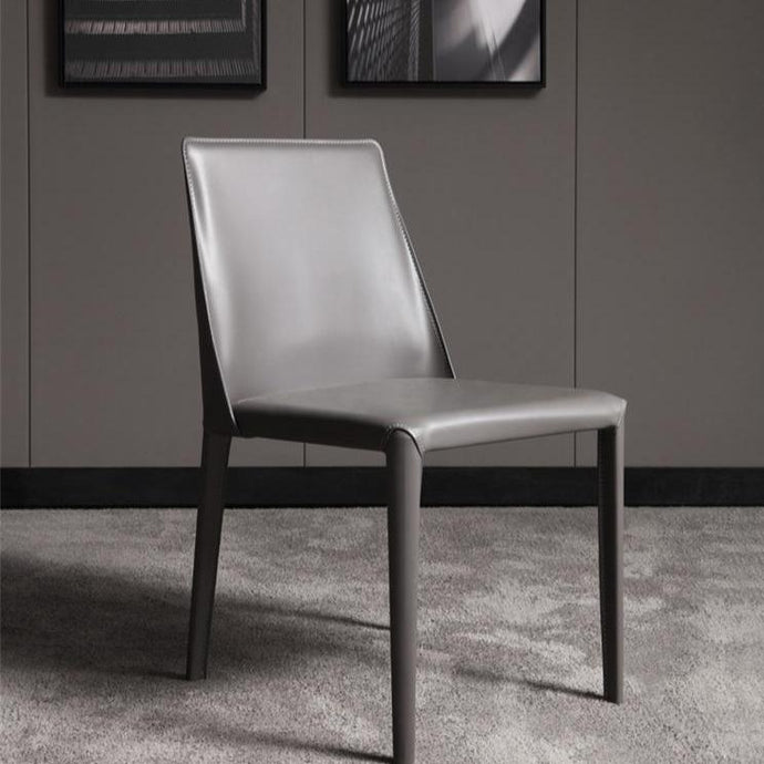 INSPIRA LIFESTYLES - Saddle Leather Chair I - CHAIR, CHAIRS, DINING CHAIR