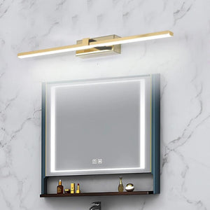 INSPIRA LIFESTYLES - Victoria LED Vanity Light - BATHROOM LIGHT, LED, LED LIGHT, LIGHT FIXTURE, LIGHTING, LINEAR LIGHT, MAKE UP LIGHT, MINIMALIST, POLISHED CHROME, VANITY LIGHT, WALL LAMP, WALL LIGHT