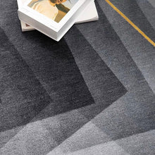 Load image into Gallery viewer, INSPIRA LIFESTYLES - Gradating Prismatic Round Area Rug - ACCENT RUG, AREA RUG, BEDROOM CARPET, CARPET, COMMERCIAL, DINING ROOM CARPET, FLOOR MAT, GRADATING, GRAY, HOTEL CARPET, LIVING ROOM CARPET, OFFICE CARPET, PILE CARPET, RUG, WOVEN RUG