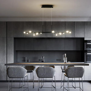 INSPIRA LIFESTYLES - Abstract Branch LED Chandelier - ABSTRACT, ACCENT LIGHT, BLACK LIGHT, BRANCH LIGHT, CHANDELIER, FEATURE LIGHT, HANGING LIGHT, LED, LED LIGHT, LIGHT FIXTURE, LIGHTING, LIGHTS, MINIMALIST, MODERN CHANDELIER, PENDANT, PENDANT LIGHT, SPUTNIK CHANDELIER, TREE LIGHT