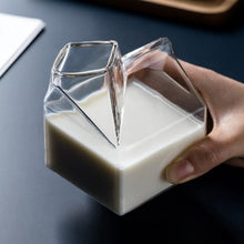 Load image into Gallery viewer, Glass Milk Carton Set